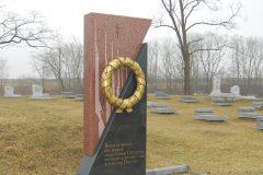Братская могила воинам, погибшим в боях под Брестом в 1915-1920 годы.